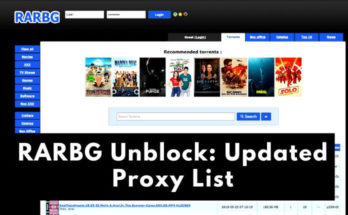 How to Unblock RARBG – List of RARBG Proxy Sites