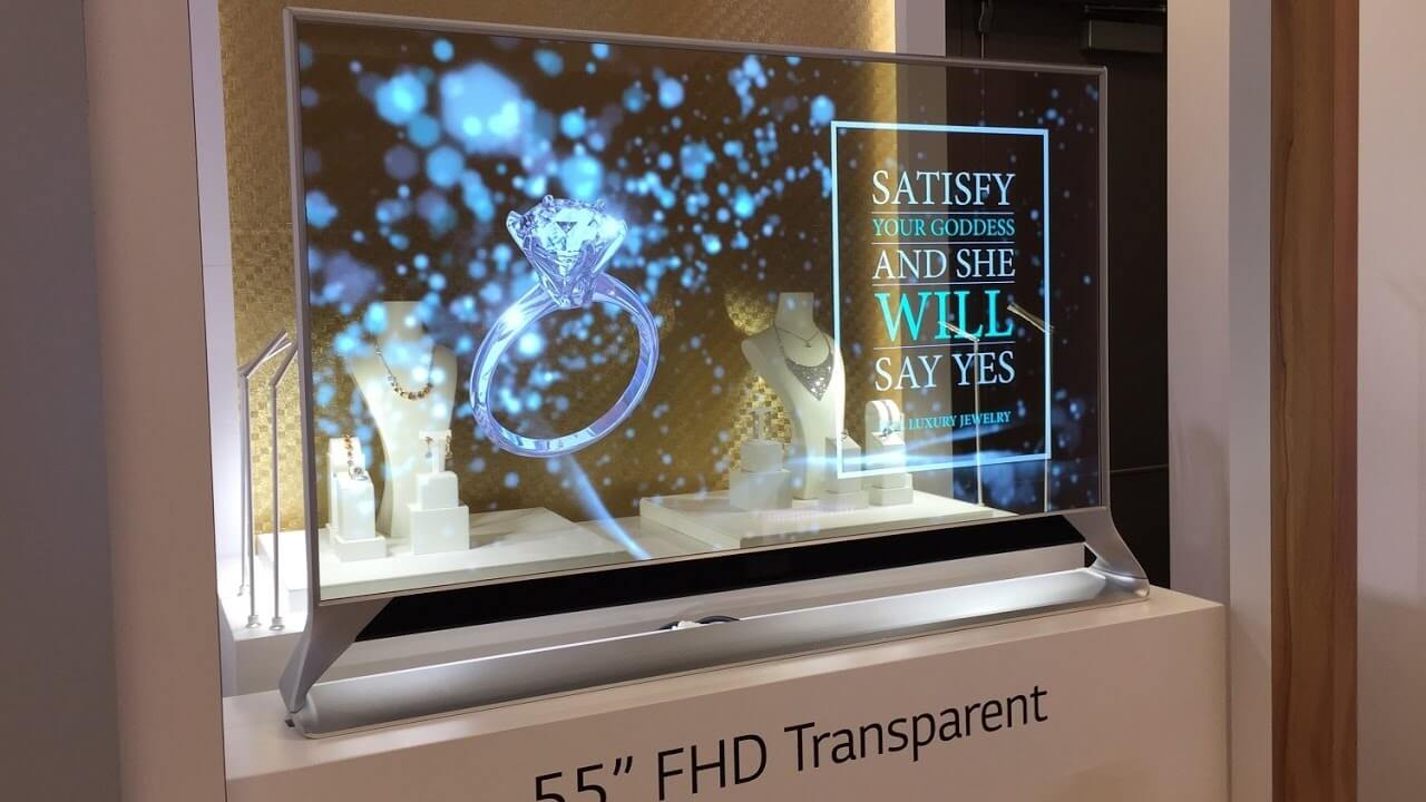 Tech Gadgets - Transparent TV Screen